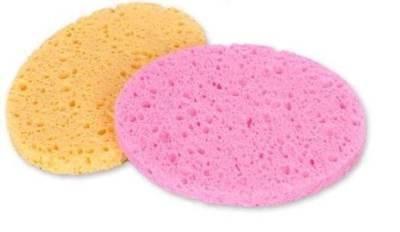 Esponjas de limpieza facial