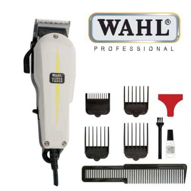 Maquina de cortar pelo wahl super taper