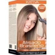 Kit de tratamiento de alisado brasileño de Kativa