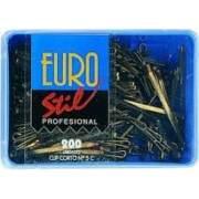 Caja 200 clips Eurostil