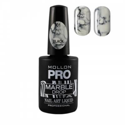 Esmalte efecto mármol Marble Drop Mollon Pro